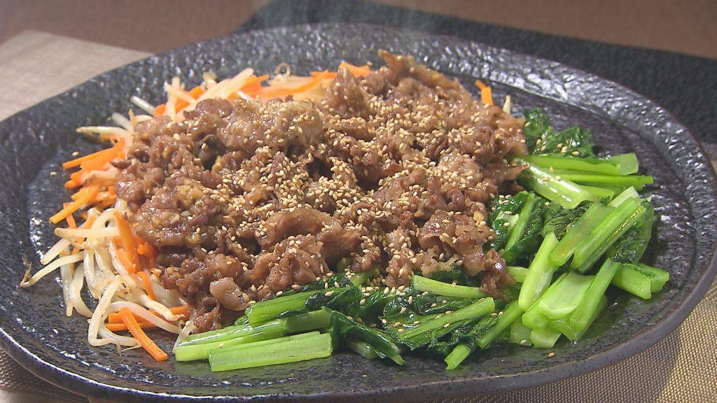 野菜をたっぷり食べる焼き肉