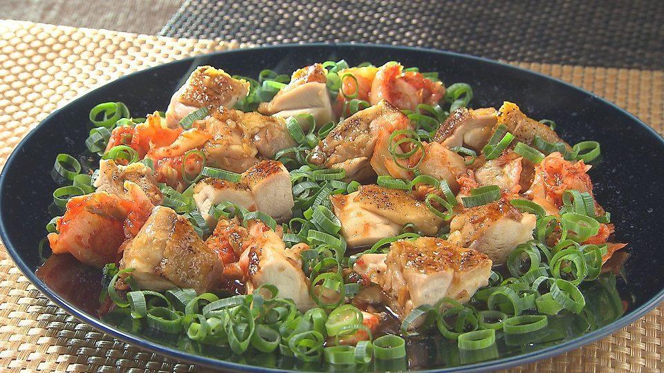 鶏もも肉のスタミナ照り焼き