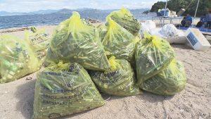 回収されたゴミは78.9キロにも