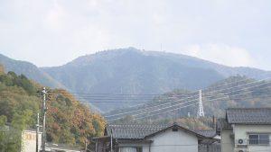 広島市安佐北区大林地区の山