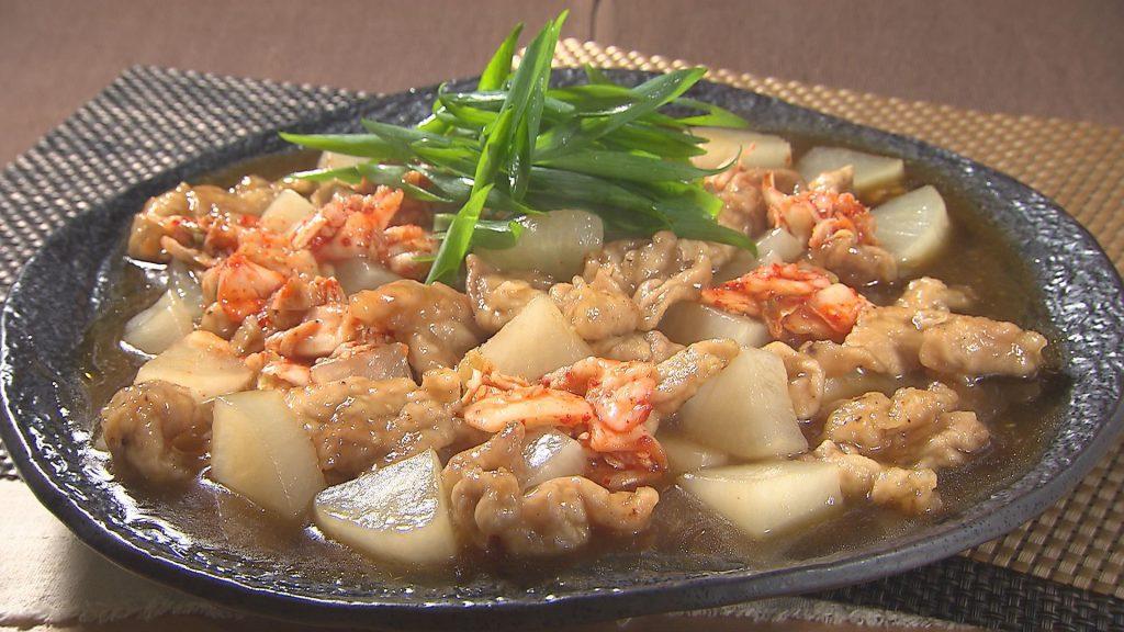やわらか大根と豚こま切れ肉のアジアン煮