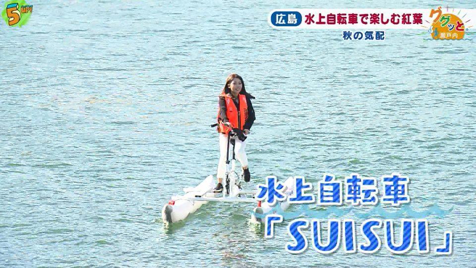 水上自転車SUISUI