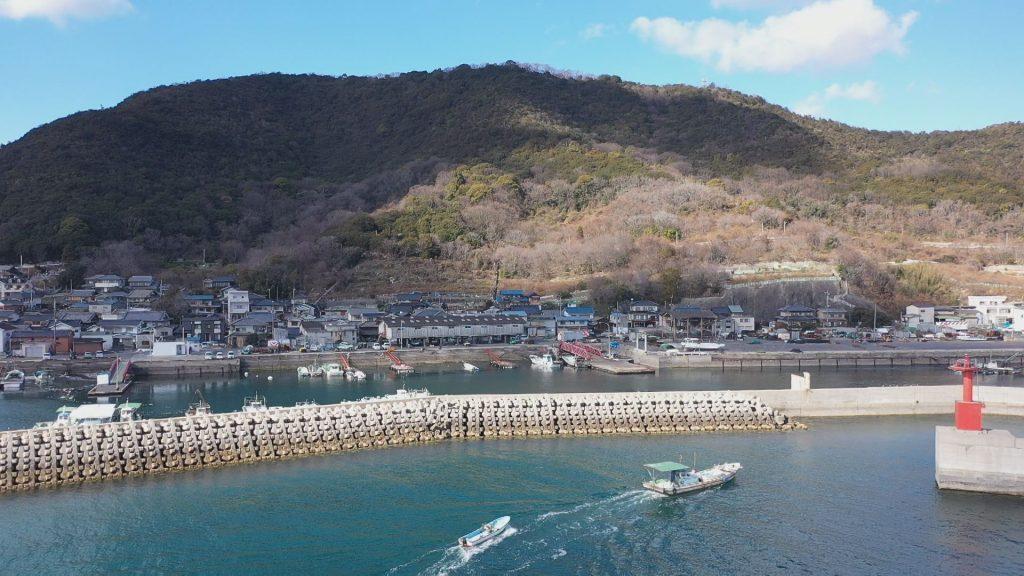 瀬戸内海にある田島