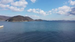 きれいすぎる瀬戸内海