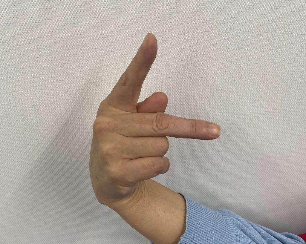 横村恭子さん(広島県ろうあ連盟)