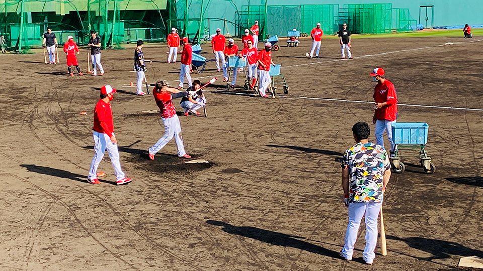 カープ沖縄キャンプ