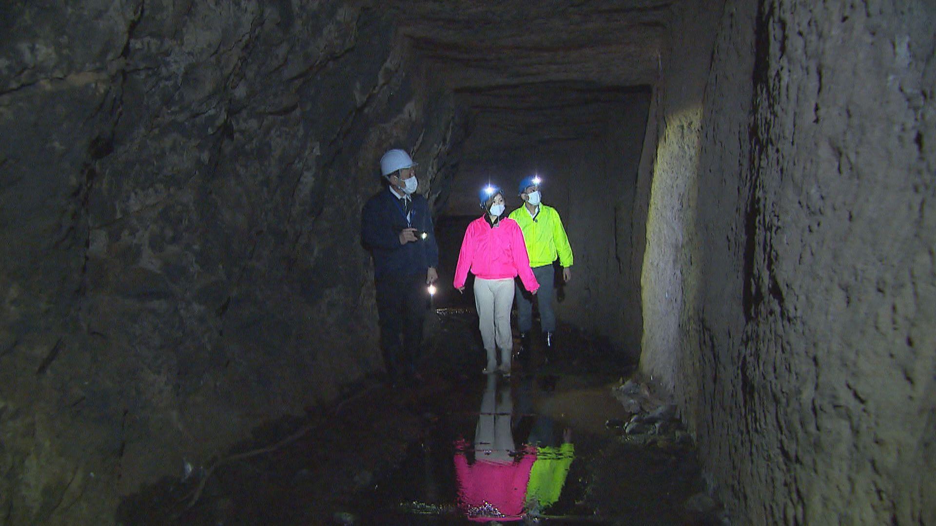 石見銀山世界遺産センター 洞窟