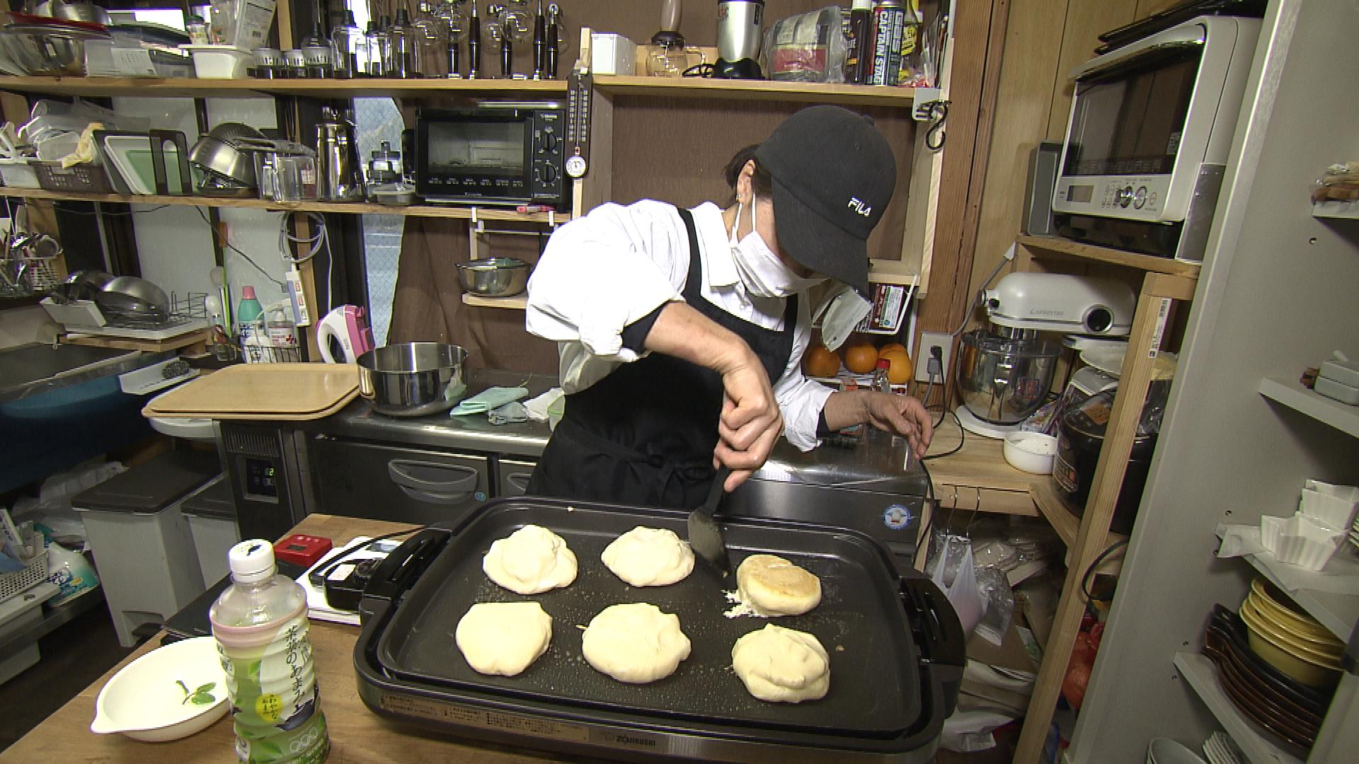 パンケーキ作業