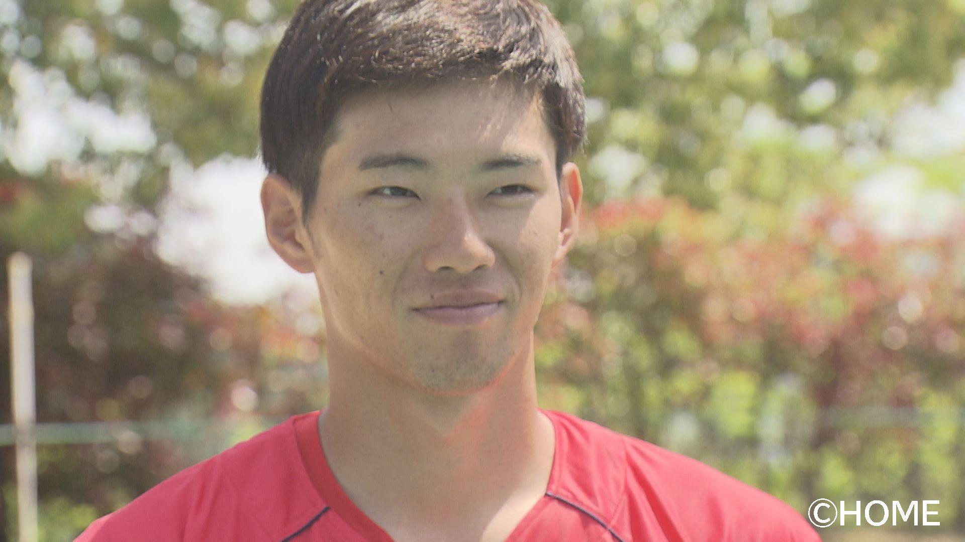 中村奨成選手