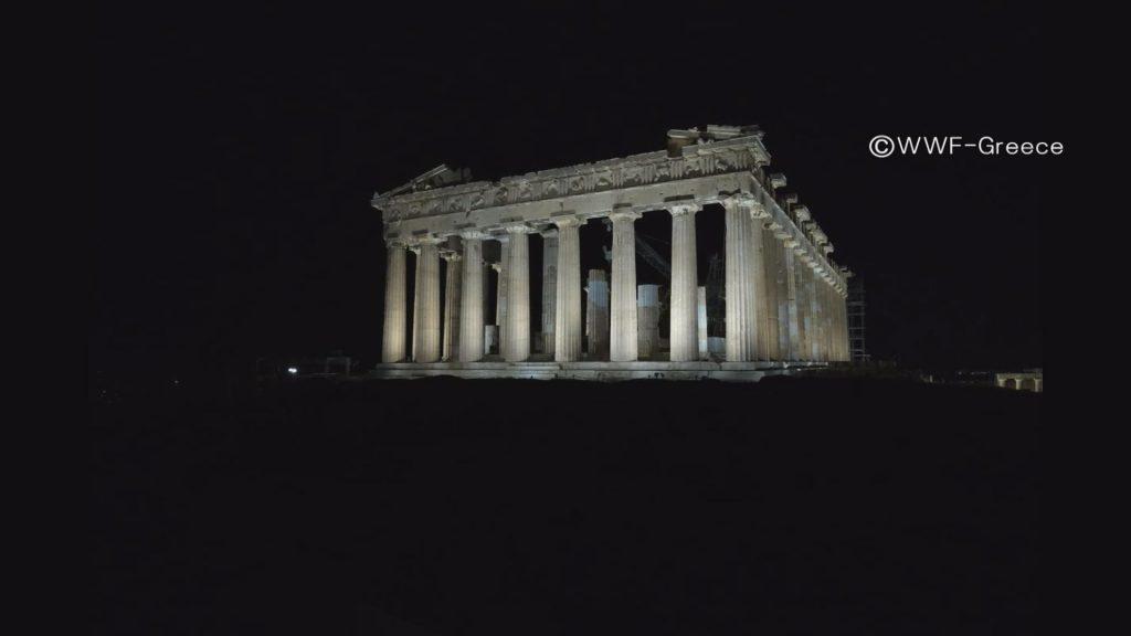 パルテノン神殿(点灯)