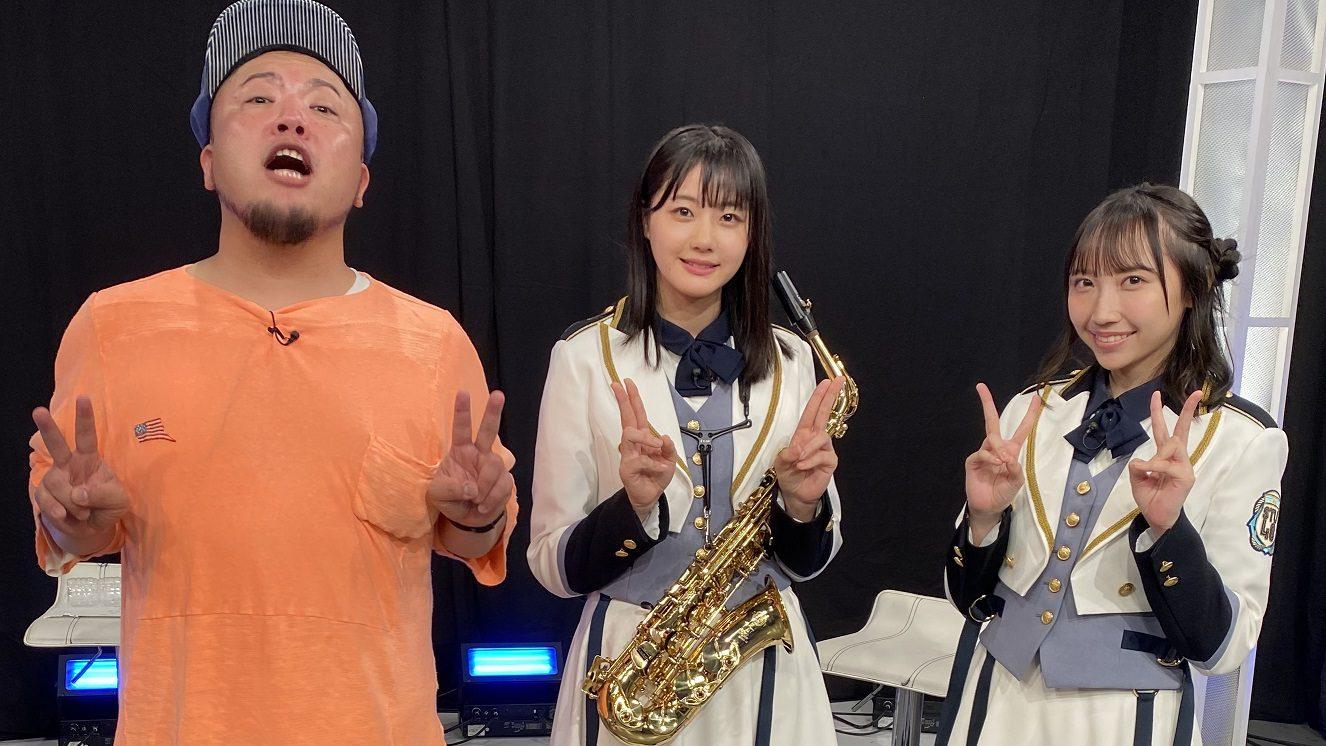 楽曲制作に挑戦するSTU48瀧野由美子・薮下楓とHIPPY