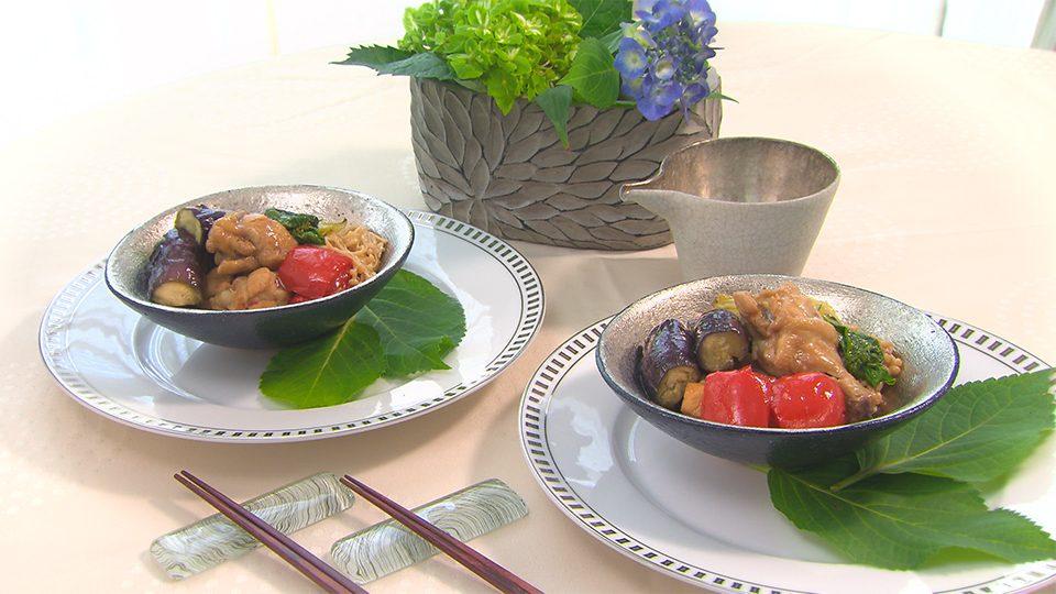 手羽元と野菜の黒酢煮込み