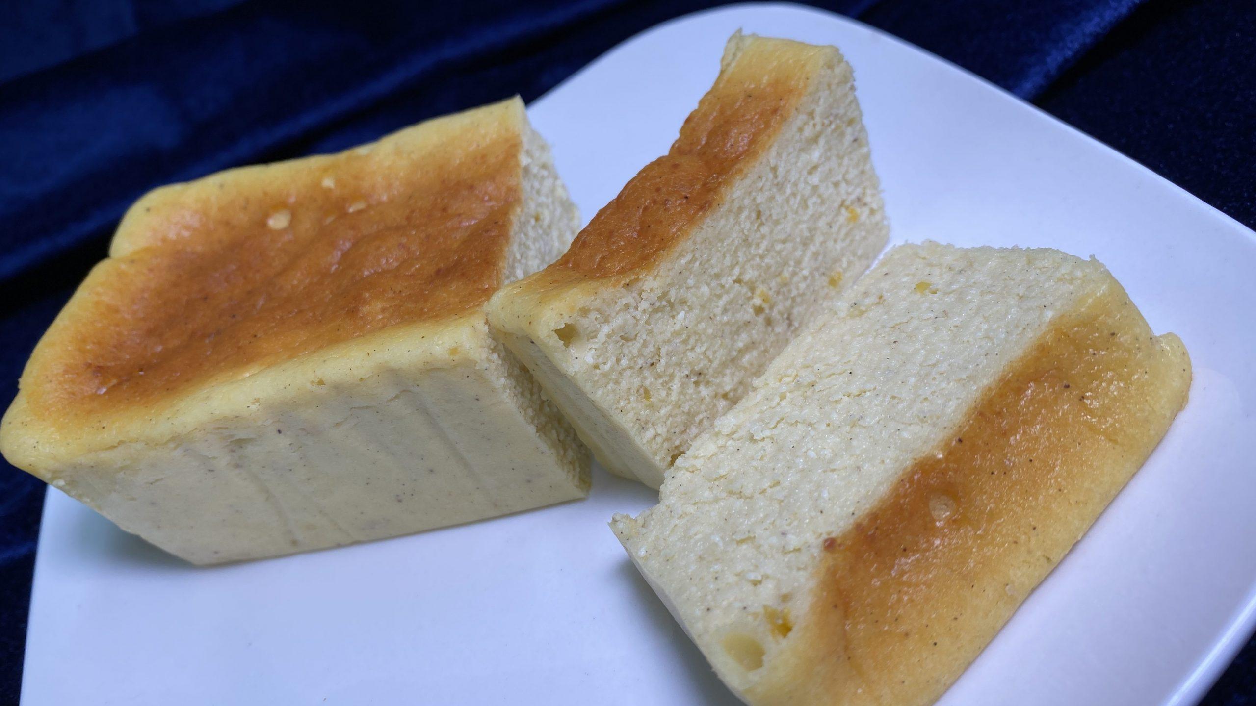香り豊かな農産物の端材を使ったチーズケーキ  Hazico