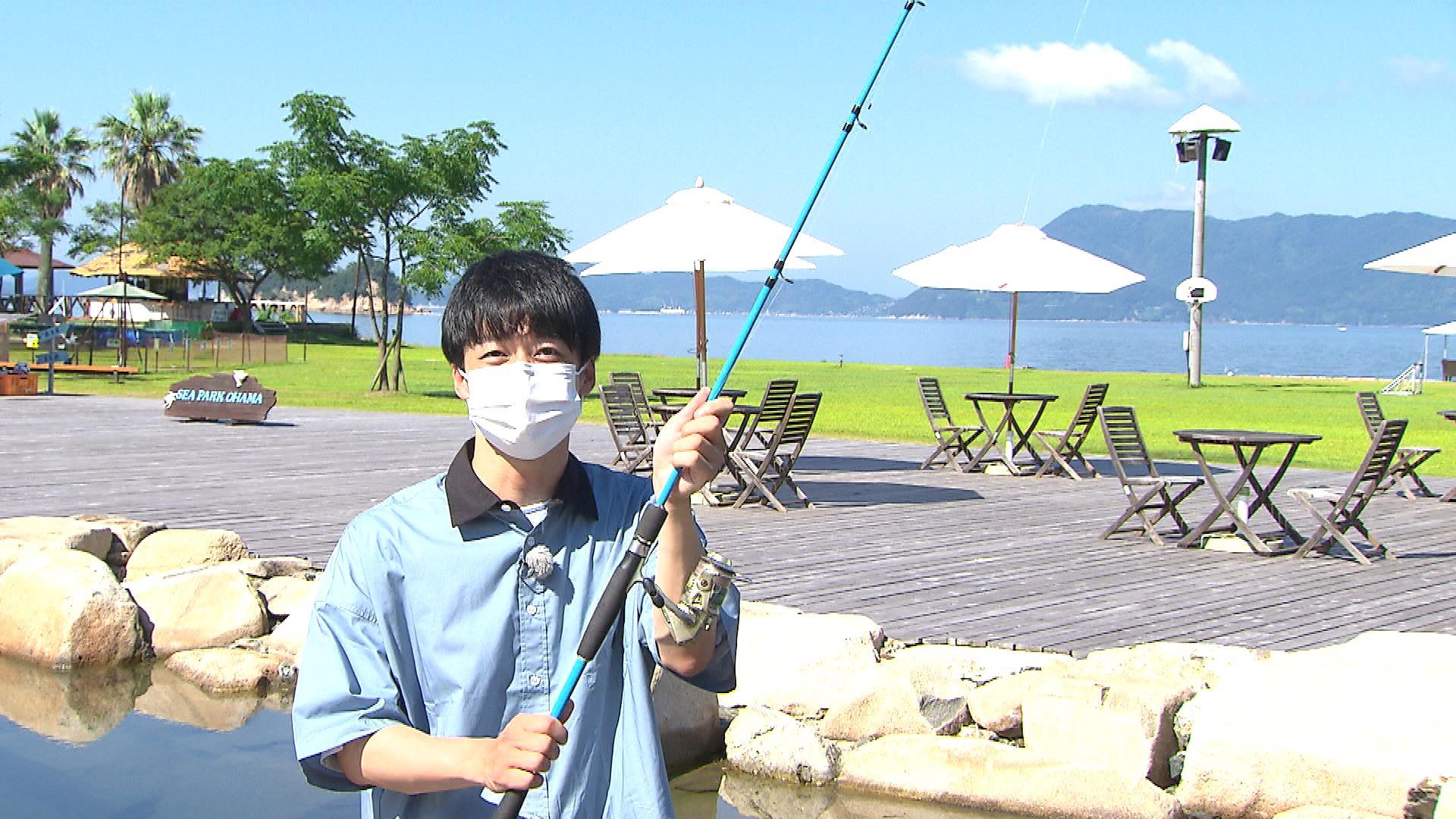 釣り堀体験は、90分・500円。釣った魚は1匹目から買い取り。鮮魚加工料は別途必要。