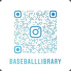 野球殿堂博物館図書室インスタグラム