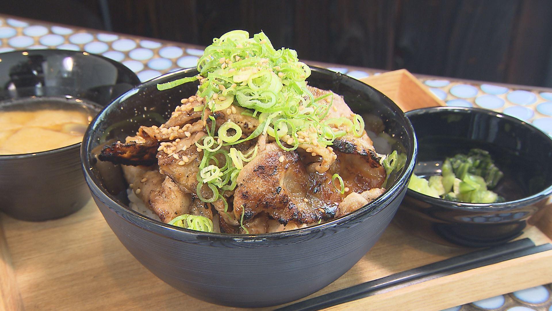 スタミナ豚丼(880円)