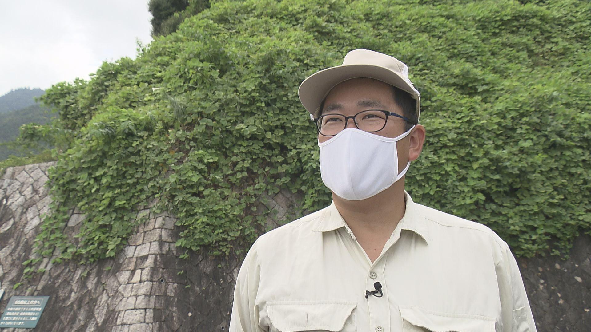広島市植物公園 技師 在岡さん