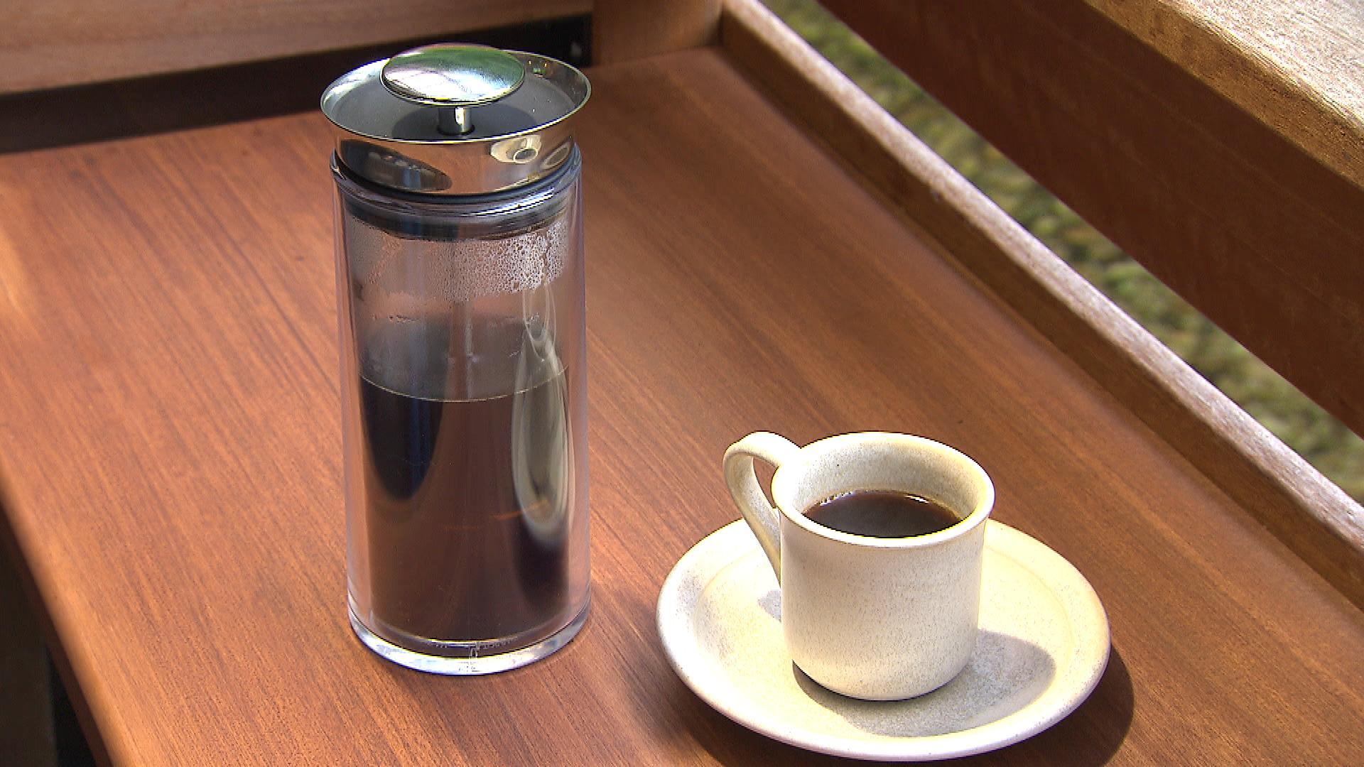 アメリカンプレスコーヒー(550円)