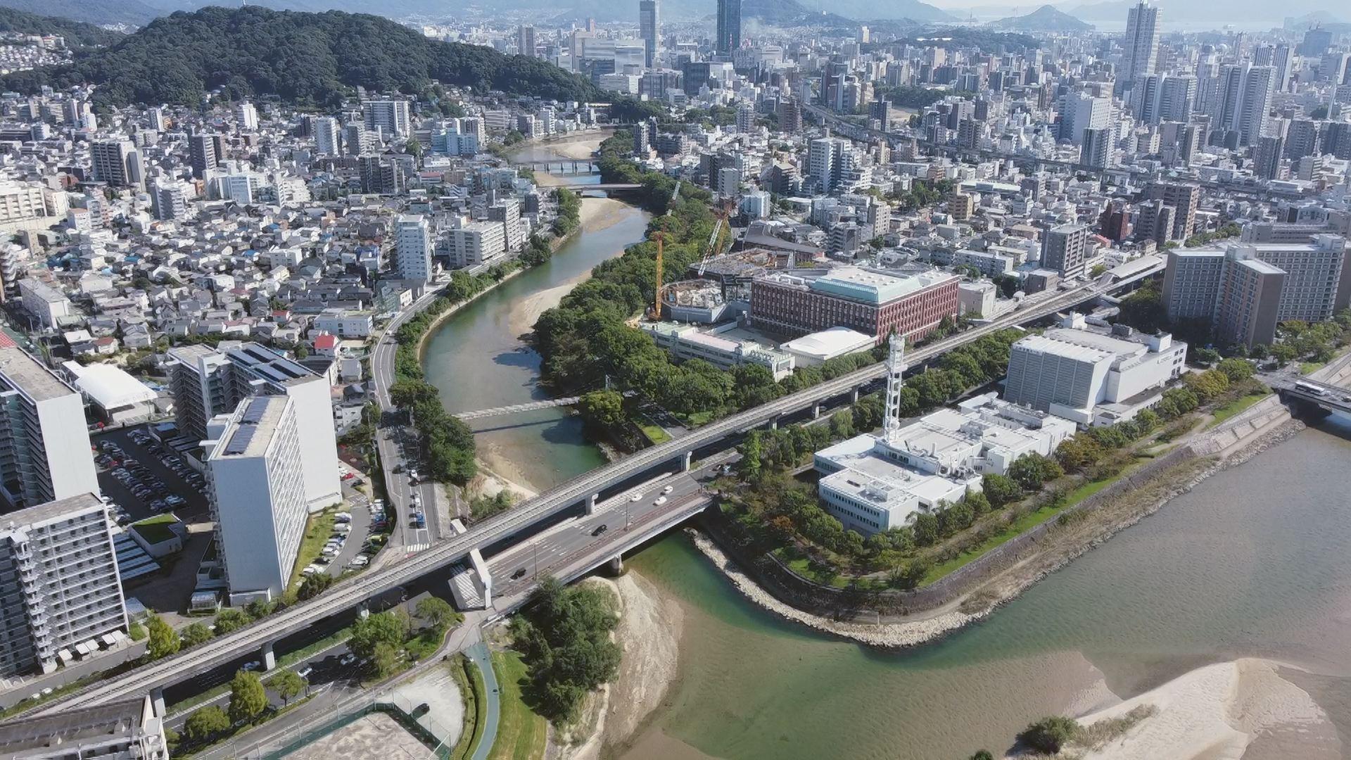 太田川下流域