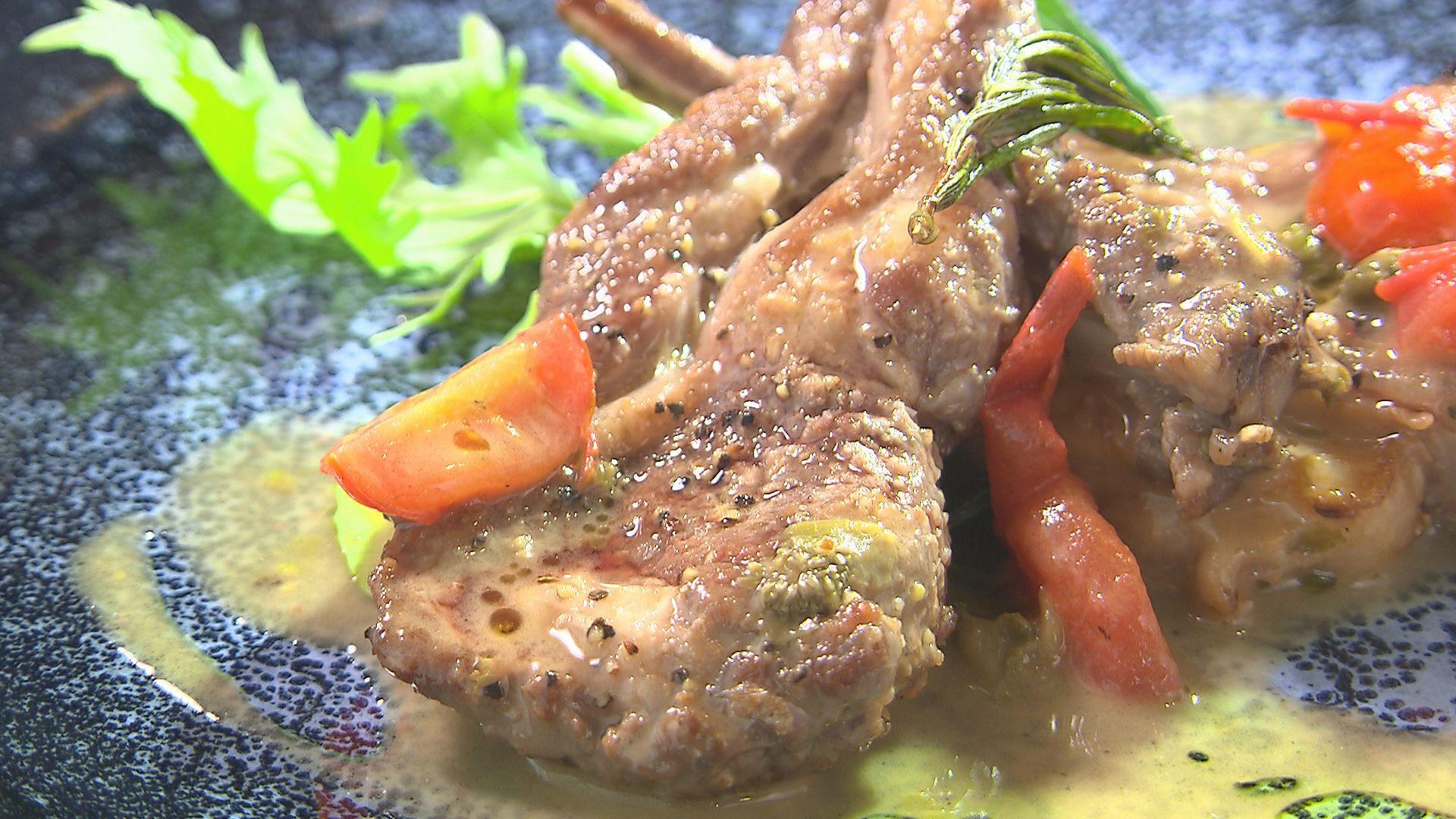 仔羊肉のカチャトーラ(2,860円)