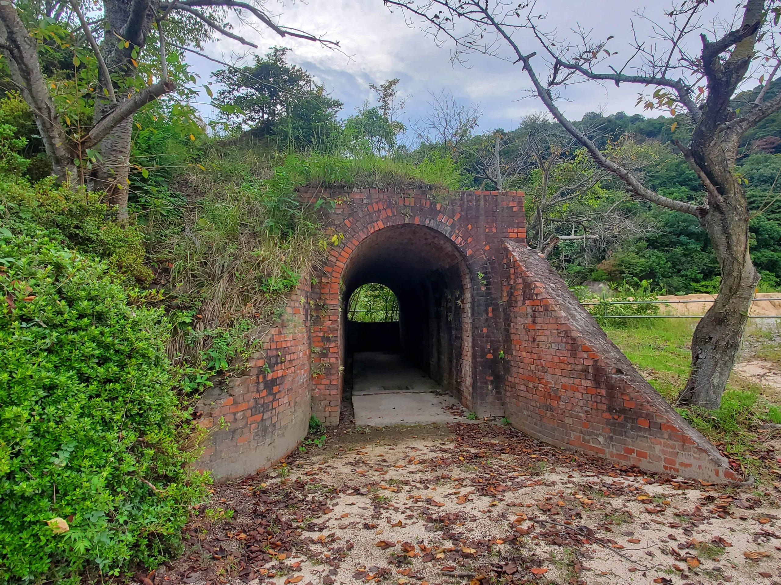 弾薬庫通用トンネル