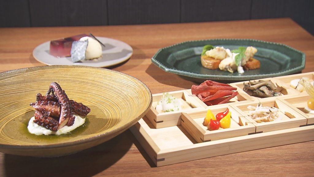 瀬戸内醸造所レストランMIO ランチコース