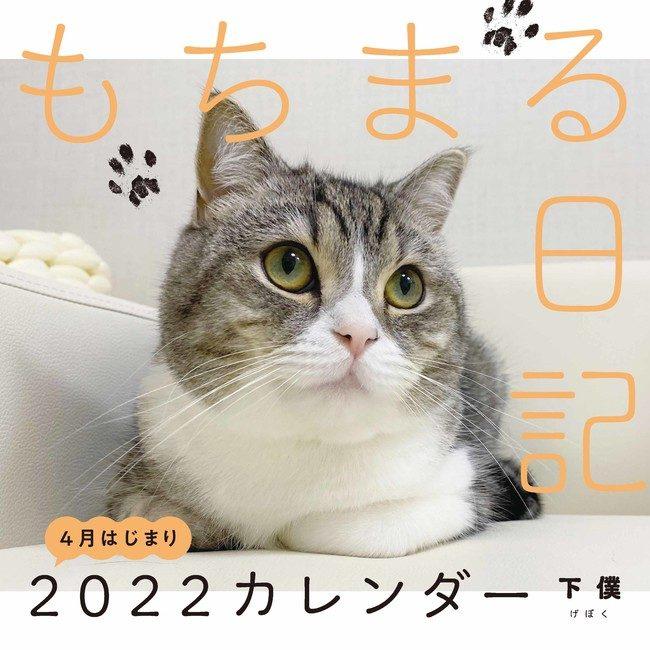 「もちまる日記」2022新作カレンダー