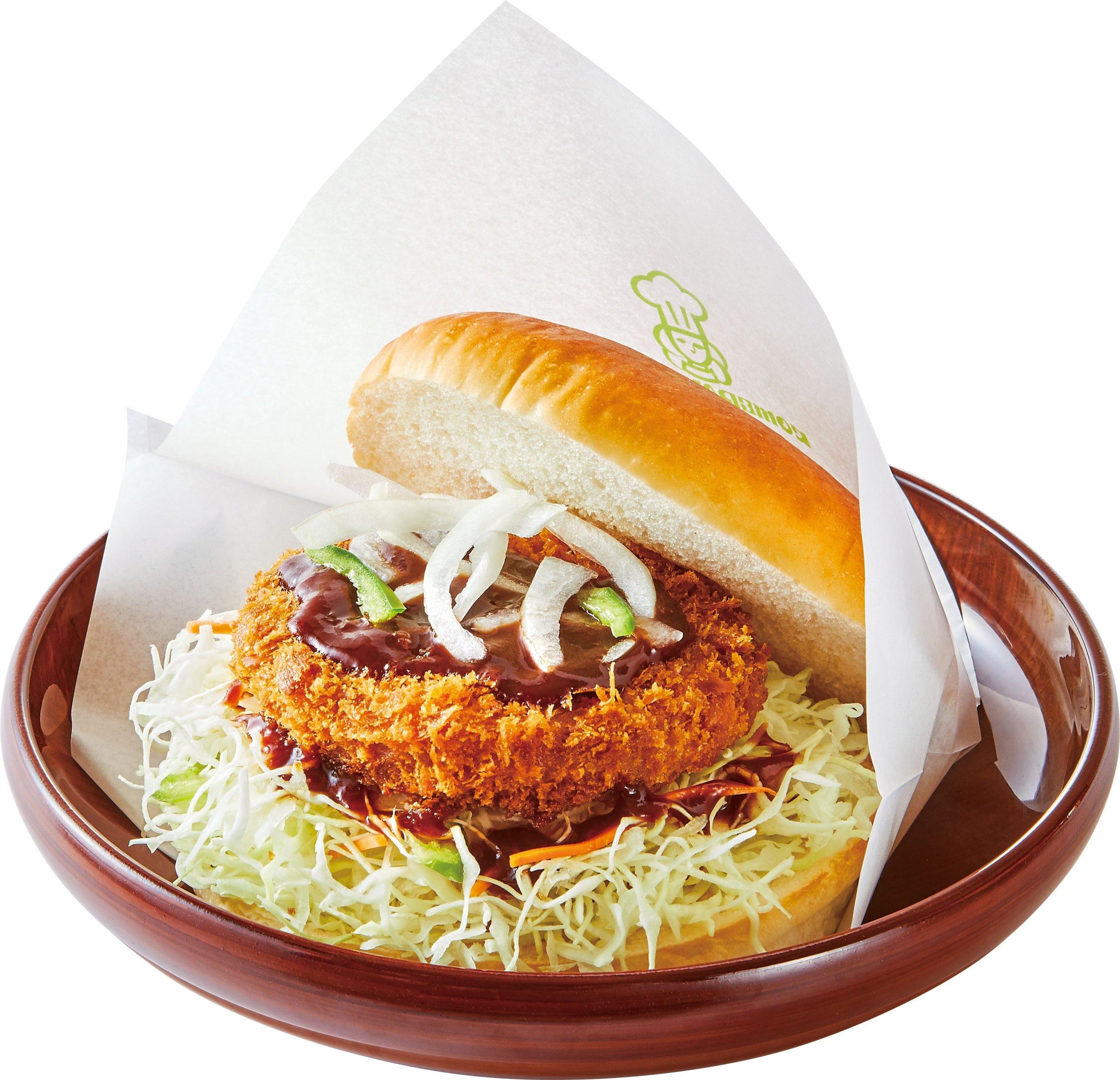 大豆ハムカツバーガー:580円~610円