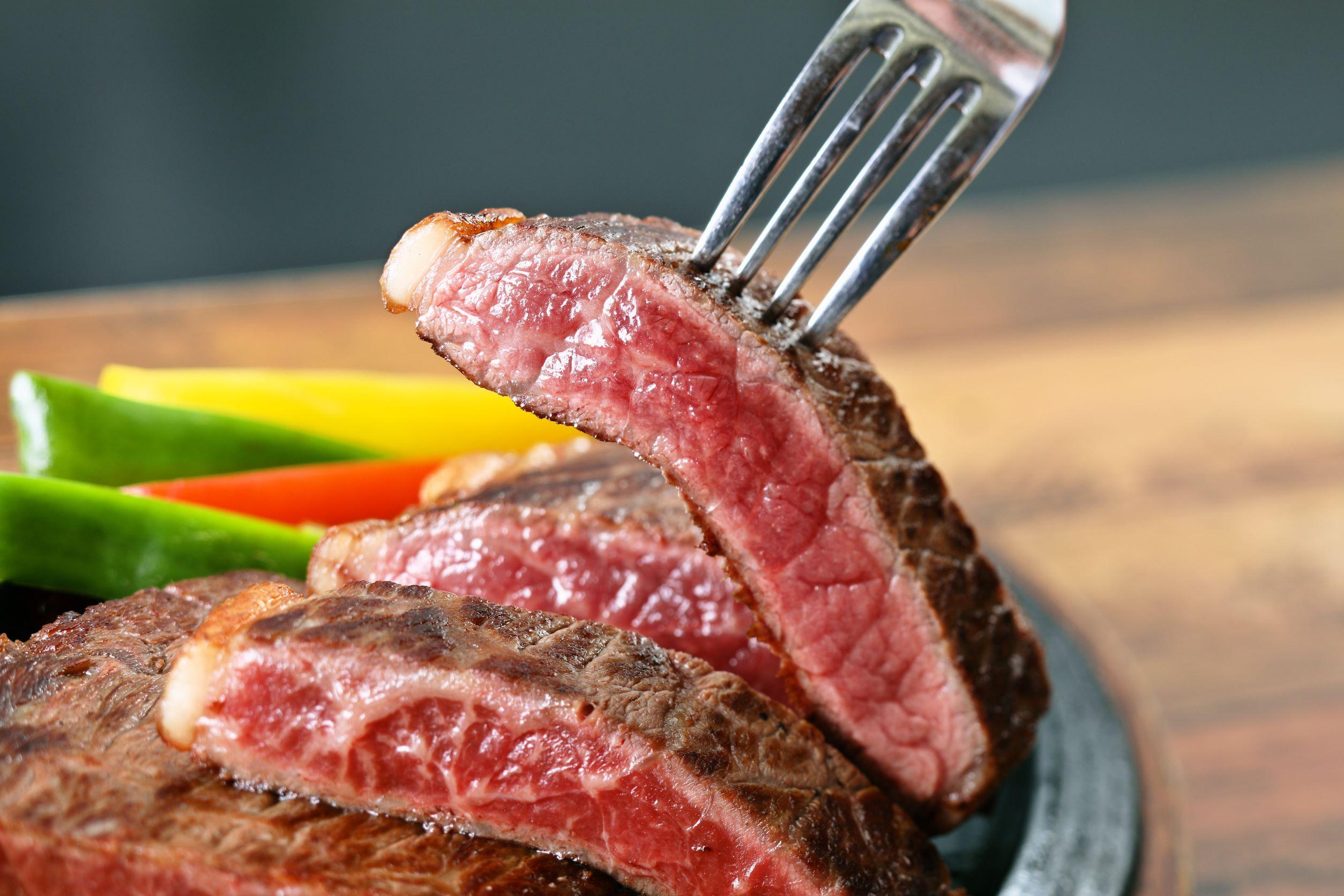 広島牛のサーロインステーキ